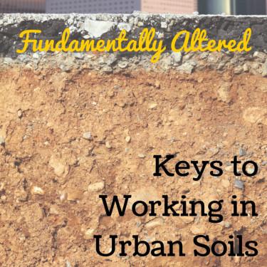 Urban Soils