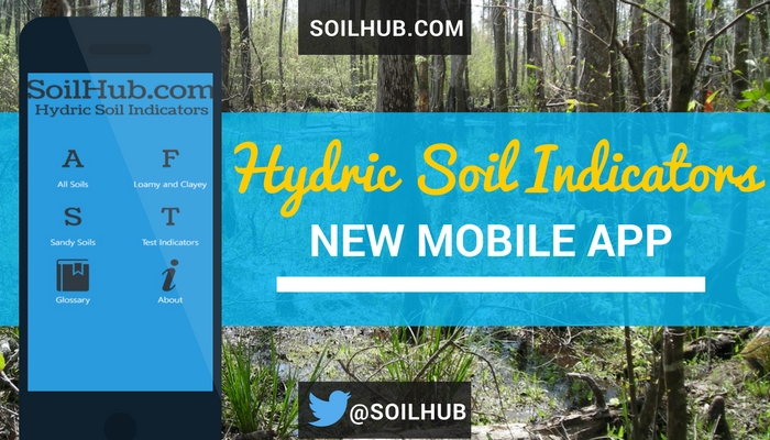 Free Hydric Soil Indicators Mobile App