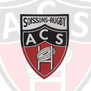 STICKERS LOGO AC SOISSONS RUGBY