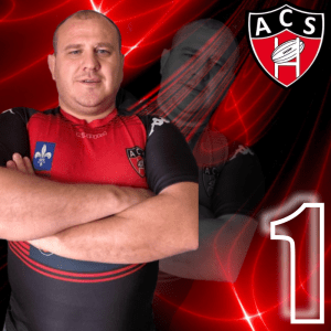 POUTREL GREGOR AC SOISSONS RUGBY