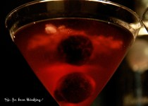 Cherry Coconut Martini from soivebeenthinking.com
