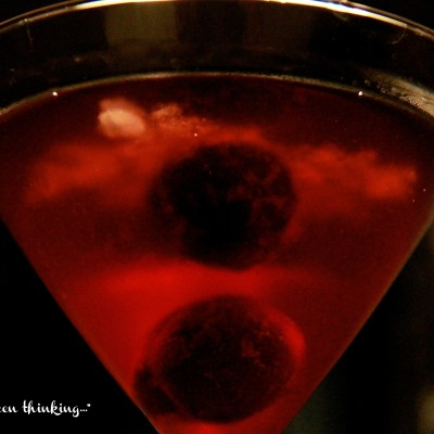 Cherry Coconut Martini