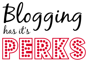perks of blogging, soivebeenthinking.com