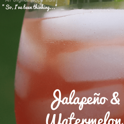 Jalapeño Watermelon Margarita