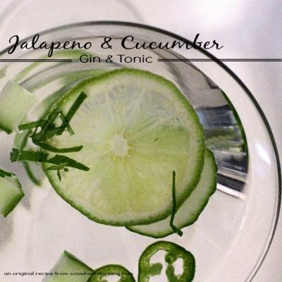 Jalapeno & Cucumber Gin & Tonic