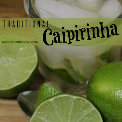 Traditional Caipirinha