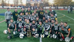New Milford Bulls Pee Wee Football Team 2015