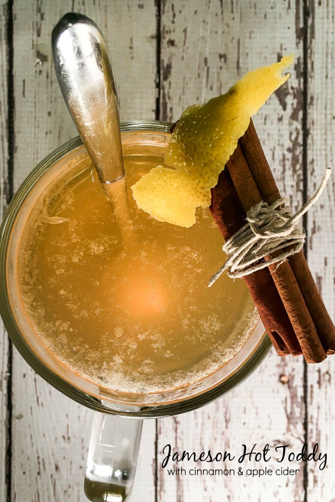 Jameson Hot Toddy with Cinnamon Apple Simple Syrup