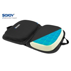 Soft and Gel Car Seat Cushion
