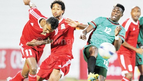Gabeye  in action for the National team