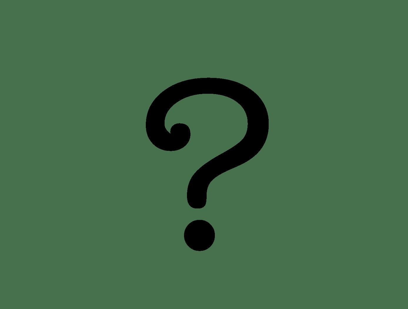 Question Mark Website