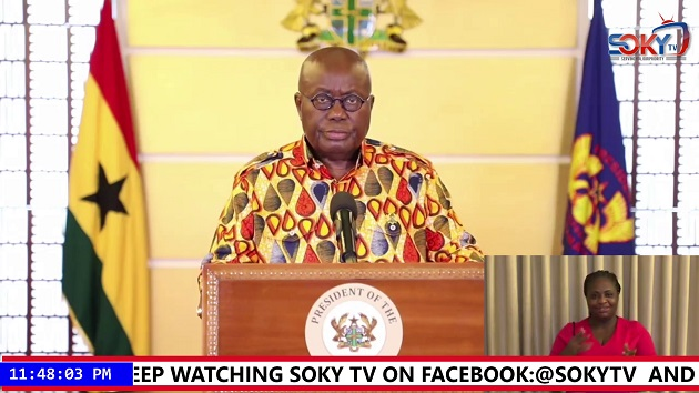 COVID 19: Parts of Ghana to be in lockdown from Monday