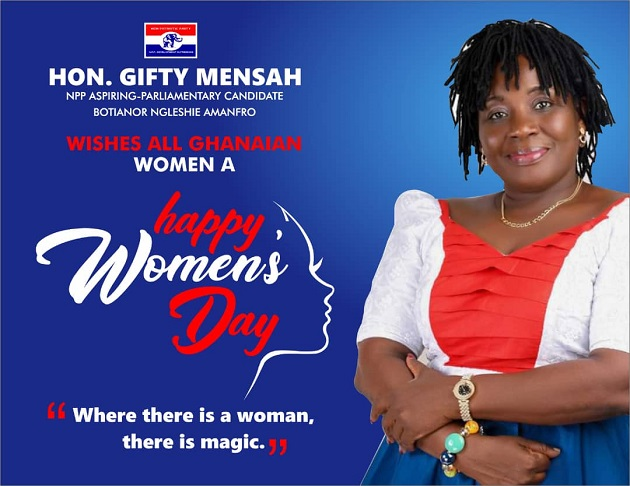 Where There is a Woman, There is Magic - Hon. Gifty Mensah