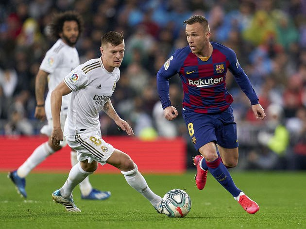 Arthur Ruled Out of Real Sociedad Clash With Fresh Injury