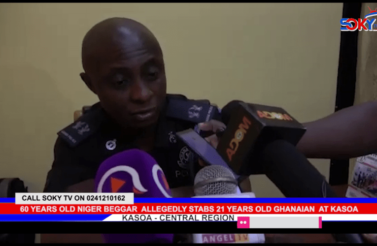 60 YEARS OLD NIGER BEGGAR ALLEGEDLY STABS 21 YEARS OLD GHANAIAN AT KASOA ZONGO