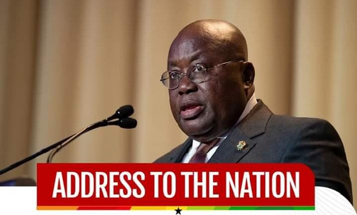 Akufo-Addo updates nation