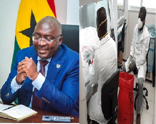 BAWUMIA CONGRATULATES GHANIAN SCIENTISTS AT NOGUCHI & OTHERS