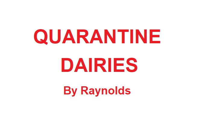 Quarantine Dairies 2