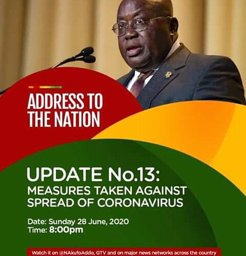Full Text: Prez Akufo-Addo's 13th COVID-19 Address To The Nation|sokynewsgh