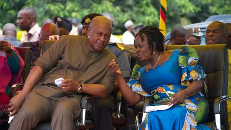 JANE OPOKU AGYEMANG PICKED TO PARTNER MAHAMA IN 2020 ELECTION