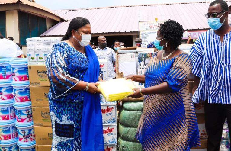 FIRST LADY COMMENDS MOH, GHS FOR MUTUALLY BENEFICIAL PARTNERSHIP