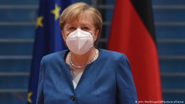German Chancellor Angela Merkel is mulling new COVID restrictions with state leaders