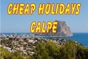 Cheap Holidays Calpe, Costa Blanca