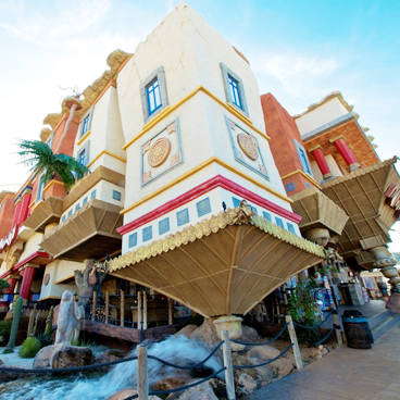 themed park hotel in Majorca