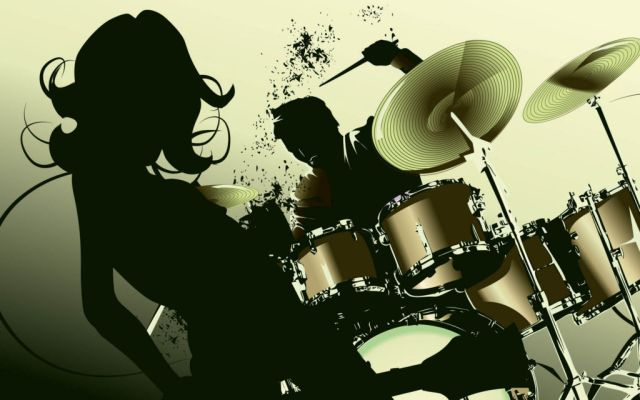 Drum-Vector-Music-Wallpaper