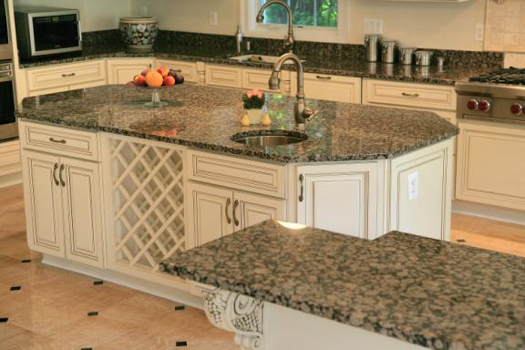 Baltic Brown With White Cabinets Ausrine Beauty Baltic Brown Granite  Countertop