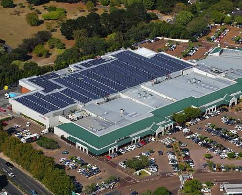 Constantia Village Shopping Centre SOLA Future Energy Retail Solar System Project