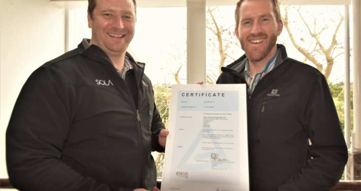 SOLA obtains ISO 9001:2015