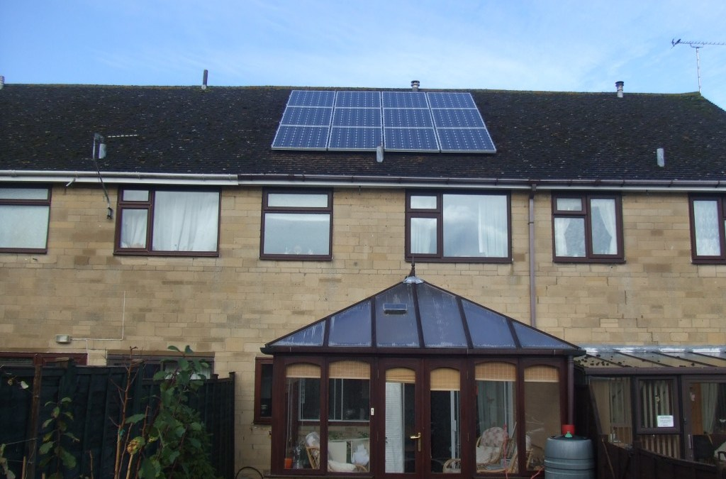 Completed Solar Panel Cleaning In Oxford