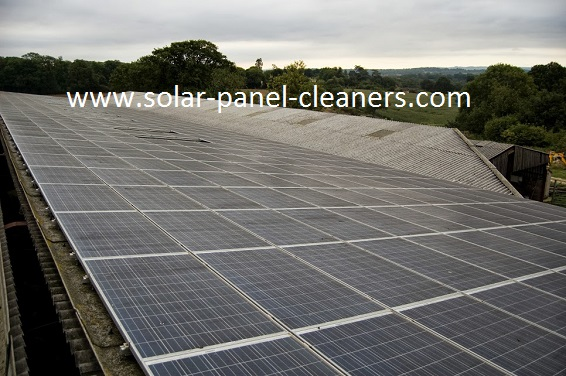 Solar Panel Cleaning Completed On Two Farms At Haywards Heath, West Sussex