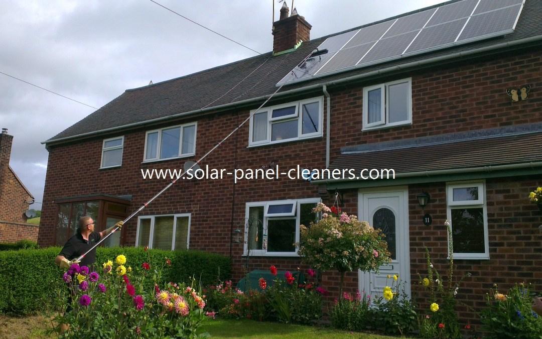 Residential Solar Panel Cleaning UK