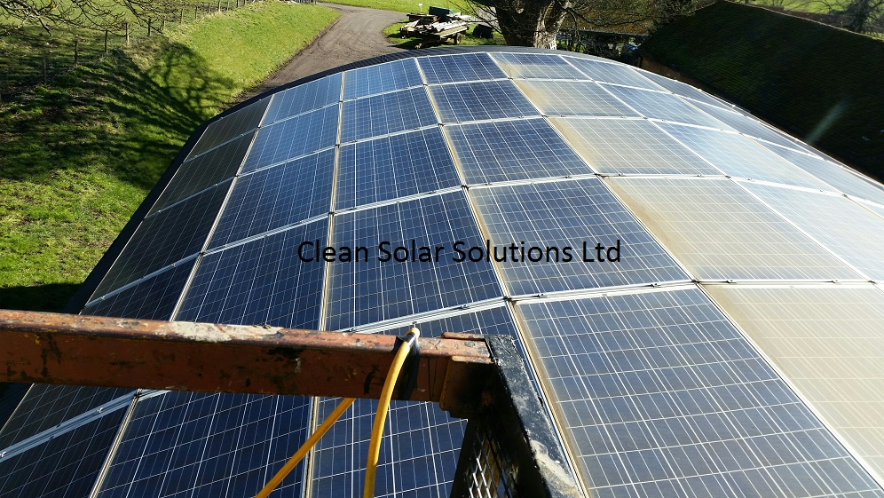 Solar Panels Cleaned On St. Clere Estate, Sevenoaks, Kent