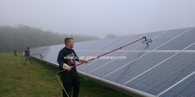 Solar Panel Cleaning Training In UK From Clean Solar Solutions