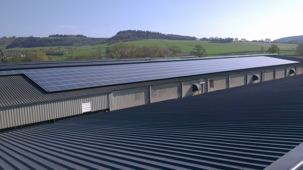 Solar Panel Cleaning Completed On One Of The UK's Largest Solar Farms Of Its Kind