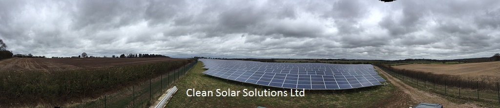 Solar Farm Cleaning In Warwickshire Completed