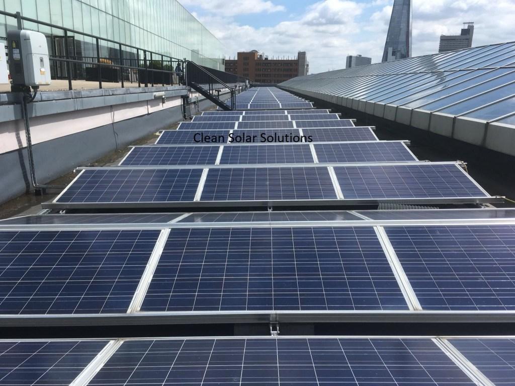 Solar panel cleaning Southwark