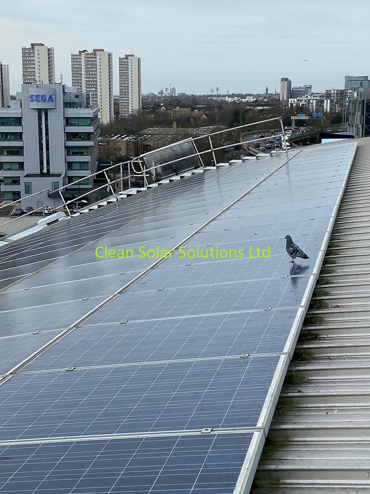 Solar panel cleaning Chiswick