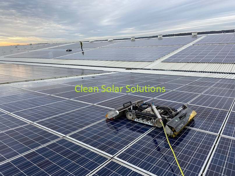 Solar panel cleaning Trentham