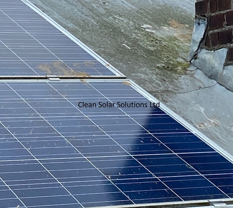 Solar Panel Cleaning  Plymouth – Rooftop Storage Facility