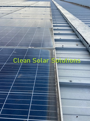 Solar Panel Cleaning In Tilbury Completed On Distribution Centre