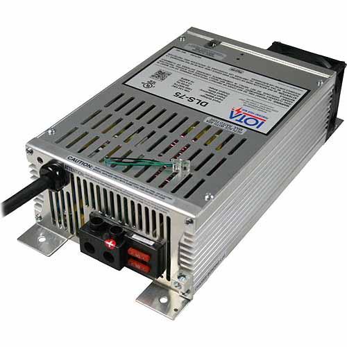 IOTA DLS-75 - 12V Battery Charger / Power Converter