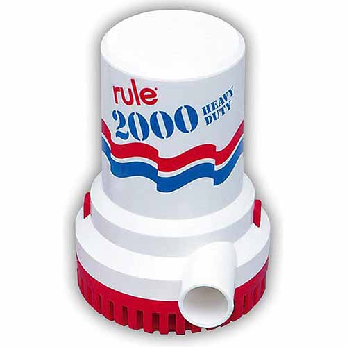 Rule Bilge Pump, 2000GPH, 12 Volt