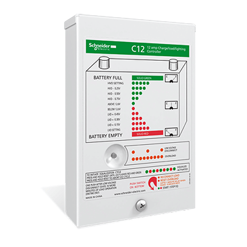 Xantrex / Trace C-12 12A PWM Charge Controller