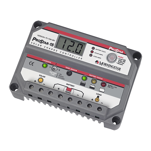 Morningstar Prostar PS-15M 15A Charge Controller