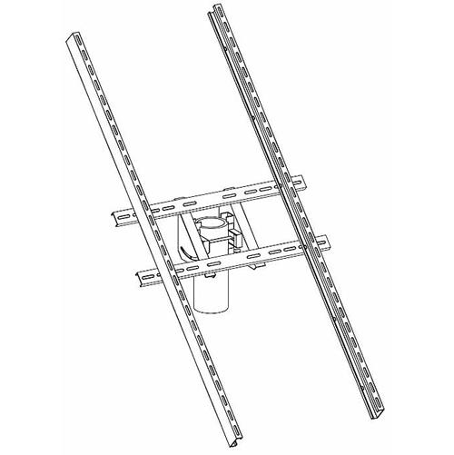 Tamarack Solar UNI-TP/03, Top of Pole Solar Panel Mount