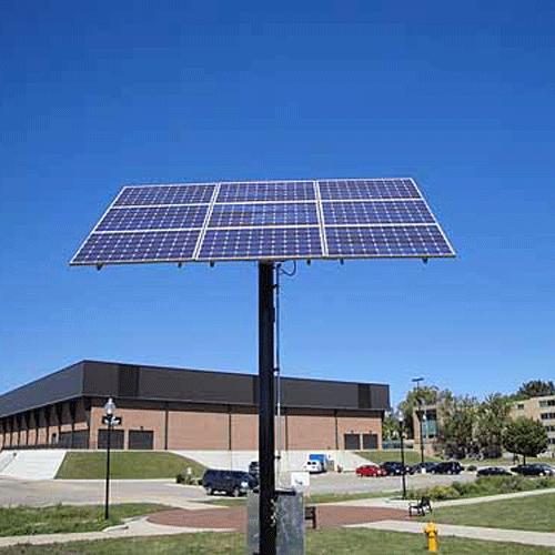 Wattsun Solar Tracker AccuTrak AZ-9 Single Axis Tracker for 9 60 Cell Modules